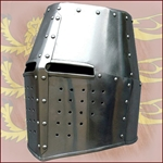 Functional Helms designed to meet the needs of various re-enactment groups.
