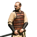 Leather Celtic Armor - Brown