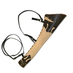 Ranger LARP Quiver - Tan Leather