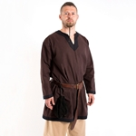 Basic Medieval Tunic - Brown/Black