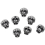 Skull Shirt Buttons Pewter Alchemy S1