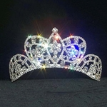 Small Butterfly Cluster Tiara - Contoured Base 172-11868