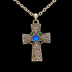 Celtic Cross Necklace 18-jo23