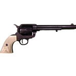 Old West M1873 Cavalry Revolver Replica Black Finish Non-Firing FD1109N