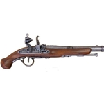 18th Century Colonial Flintlock Pistol - Grey - Non-Firing Replica,18th Century Flintlock Pistol - Grey - Non-Firing FD1102G