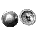 Domed Pewter Shank Button 107.0761