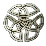 Celtic Knotwork Brooch 106.0655