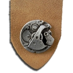 Steampunk Watch Leather Bookmark  103.1066