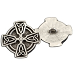 Celtic Cross Button 107.1476