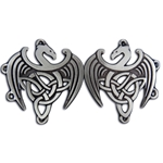 Celtic Dragon Cloak Pewter Clasp 130.1406