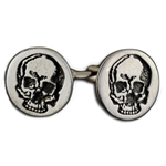 Skull Pewter Cufflinks 136.1256