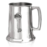 18 Key Badge One Pint Pewter Tankard EP038