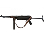 MP40 Non-Firing Replica WWII Submachine Gun - With Sling,MP40 Non-Firing Replica German WWII Submachine Gun FD1111