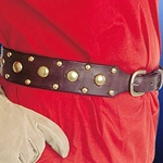 Studded Leather Belt 200178