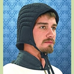 Quilted Arming Cap 26-201002