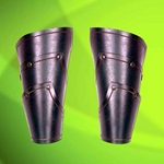 Green Elven Leather Vambraces 26-300443