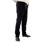 15th Century Pants, Black, XL GB0249