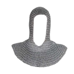 Riveted Aluminum Chainmail Hood Full Size 40-910932-HD