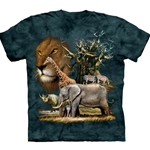 African Collage Adult 2X-Large T-Shirt 43-1030620