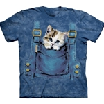 Kitty Overalls Youth's T-Shirt 43-1510160