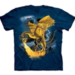 Golden Dragon Youth's Tee Shirt