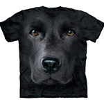 Black Lab Face Youth's T-Shirt 43-1532550