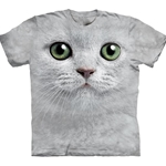 Green Eyes Face Youth's T-Shirt 43-1533570