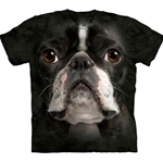 Boston Terrier Face Youth's T-Shirt 43-1533670