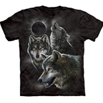 Eclipse Wolves Youth's T-Shirt 43-1533980
