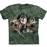 Find 12 Wolves Youth's Tee Shirt