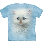 Fluffy White Kitten Youth's Tee Shirt 43-1534670