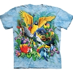Birds of the Tropics Youth's Tee Shirt 43-1535080