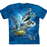 Find 9 Sea Turtles Youth's Tee Shirt