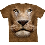 Lion Face Youth's Tee Shirt 43-1535980