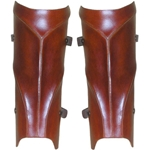 Elven Leather Greaves