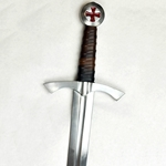 Knightly Arming Sword - Scabbard and Belt