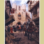 The Arrival Limited Edition Medieval Art Print AR-55