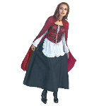 Red Riding Hood Deluxe Adult Costume 100-124802