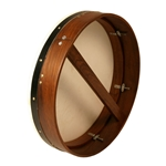 "Bodhran 18""x4"",Tune, Rosewood, Single BTN8X4R"