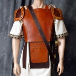 Leather Greek Attica Cuirass BTS-5030