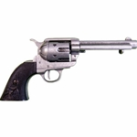 Old West M1873 Fast Draw Frontier Antiqued Revolver Non Firing FD1108G