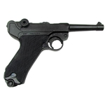 German P08 Luger Non-Firing Replica - Black Grips,German P08 Luger Non-Firing Replica - Wooden Grips