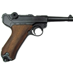 German P08 Luger Non-Firing Replica - Wooden Grips