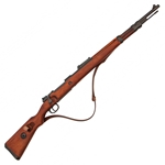 Replica German K98 with Sling - WWII Non-Firing,K98 German Rifle WWII Non-Firing Replica