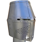 Classic Great Helm Steel GH0143
