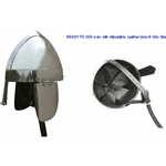 Medieval Spangenhelm with Cheek Guards Ready For Use RFU735