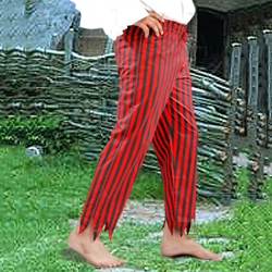 Captain Clegg Striped Pants