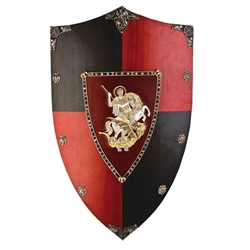 Wooden Shield of St George / Black Prince