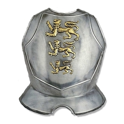 Decorative Triple Lion Breastplate