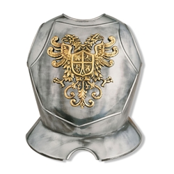 Decorative Double Eagle Crest Breastplate